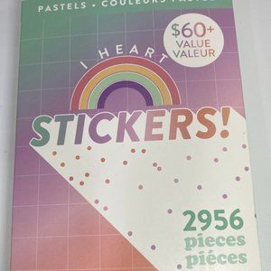 NWT The Happy Planner Pastels MEGA Sticker book